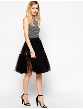 asos-full-midi-tulle-skirt by asos-collection