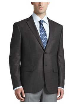multi-check-sport-coat,-brown by ermenegildo-zegna