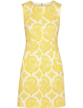 carpreena-floral-jacquard-dress by diane-von-furstenberg