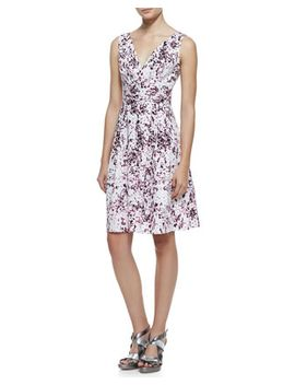 shimmy-floral-print-sleeveless-dress by nanette-lepore