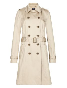 pure-cotton-trench-mac-with-stormwear™ by marks-&-spencer