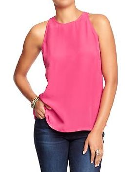 womens-sleeveless-tops by old-navy