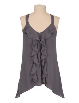contrast-lace-back-chiffon-ruffle-tank by maurices