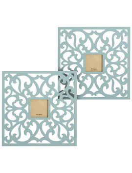 trellis-wall-frame-set---turquoise by pier1-imports