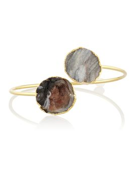 the-outnetsandra-gold-plated-druzy-bracelet by dara-ettinger
