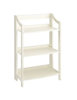antique-white-low-folding-shelf by clifton-collection