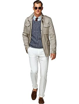 light-brown-field-jacket by suitsupply