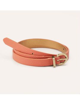 textured-skinny-belt by loft