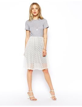 asos-midi-dress-with-t-shirt-and-spot-mesh-skirt by general