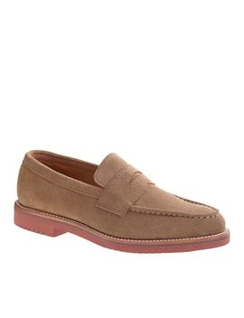 kenton-suede-penny-loafers by jcrew