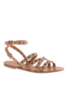 maren-studded-cross-strap-sandals by jcrew