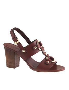 equestrian-midheel-sandals by jcrew