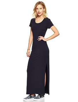 short-sleeve-maxi-dress by gap