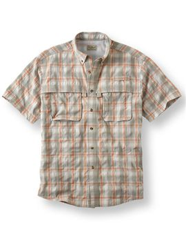 tropicwear-shirt,-short-sleeve-plaid by llbean