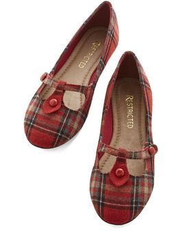 step-out-to-study-flat-in-red by modcloth