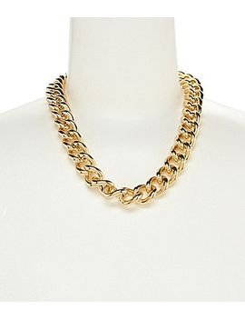 dillard´s-tailored-heavy-chain-link-necklace by generic