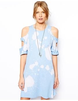 er-dress-in-bleach-wash by asos-collection