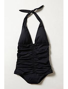 l-space-ruched-maillot by anthropologie