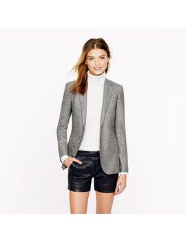 womens-ludlow-blazer-in-glen-plaid-italian-wool by jcrew