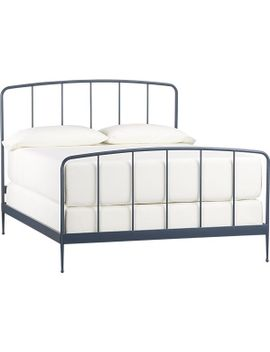 rory-blue-queen-bed by crate&barrel