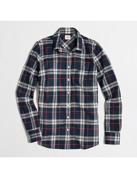 plaid-classic-button-down-shirt-in-perfect-fit by jcrew