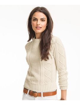 signature-cotton-fisherman-sweater by llbean