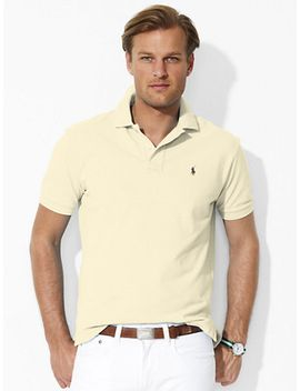 classic-fit-mesh-polo by ralph-lauren