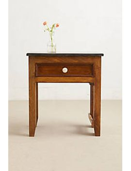 wooden-nightstand by anthropologie