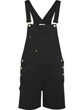 le-garcon-stretch-denim-overalls by frame