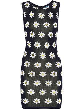 dee-floral-jacquard-knit-mini-dress by alice-+-olivia