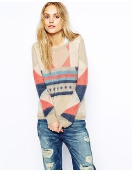 maison-scotch-sweater-with-knitted-panel by maison-scotch