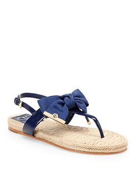 penny-gorsgrain-&-patent-leather-espadrille-sandals by tory-burch