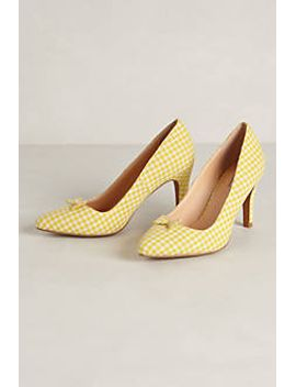 gingham-pumps by marais-usa