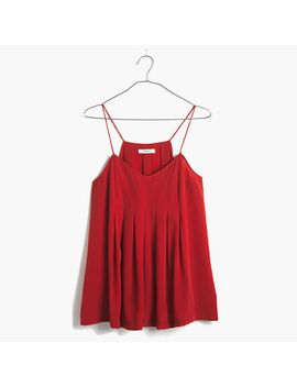 pleated-cami by madewell