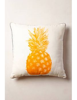 pineapple-print-pillow by bonnie-and-neil