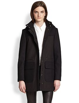 alanso-makintosh-hooded-cotton-coat by theory
