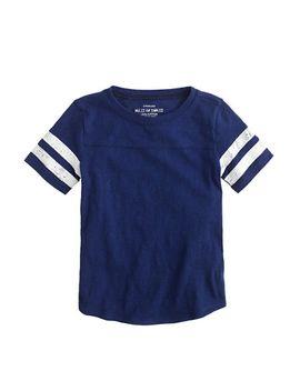 girls-football-t-shirt by jcrew