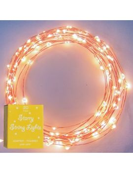 the-original-starry-string-lights,-warm-white-led-lights-on-flexible-copper-wire,-waterproof---120-leds,-20ft-strand by brightech