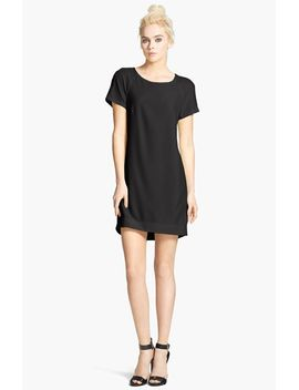 crepe-shift-dress by wayf