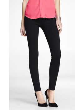ponte-knit-five-pocket-pant by express