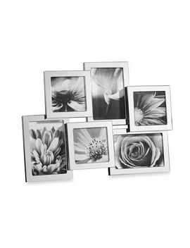 towle®-silver-plated-6-opening-collage-frame by bed-bath-and-beyond