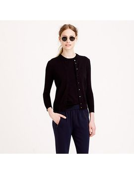 cotton-jackie-cardigan-sweater by jcrew