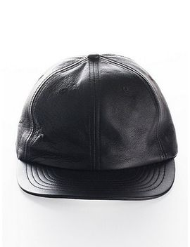 leather-hat by american-apparel