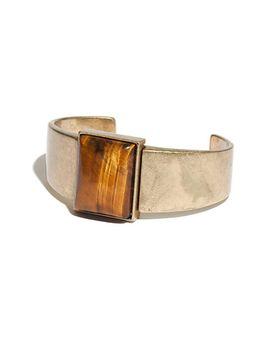 tigers-eye-cuff-bracelet by madewell