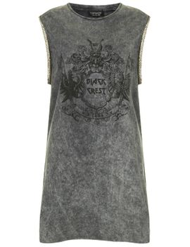 chain-arm-tank-dress by topshop
