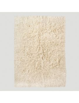 ivory-flokati-wool-rug by world-market