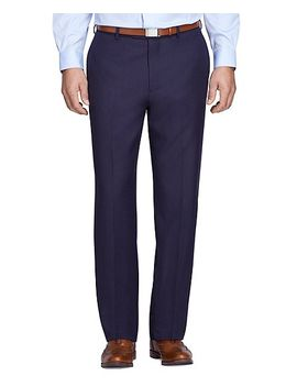 madison-fit-herringbone-trousers by brooks-brothers