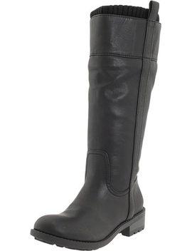 kensie-girl-womens-sendra-boot,black,55-m-us by kensie-girl