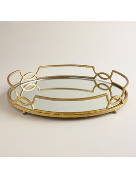 gold-mirrored-tabletop-tray by world-market