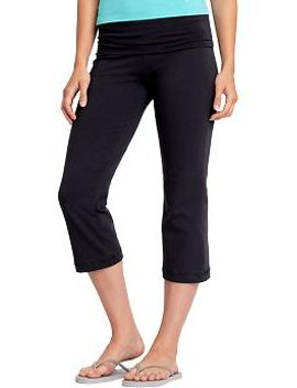 womens-fold-over-yoga-capris by old-navy